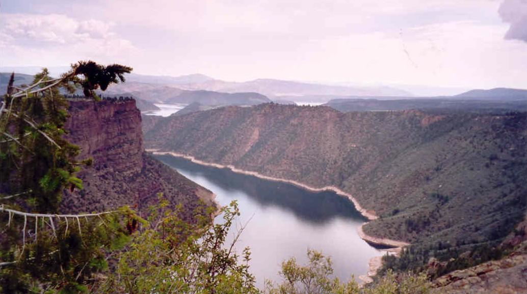 VS, Utah/Wyoming: Flaming Gorge NRA foto